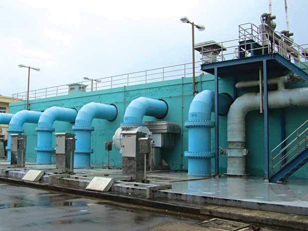Hệ thống bơm trong ngành xử lý nước thải