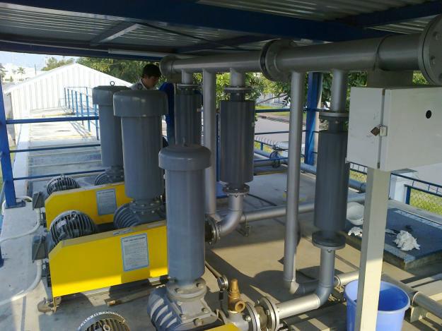Hệ thống bơm xử lý nguồn nước chế biến thủy sản