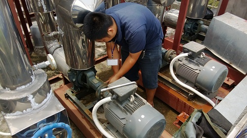 Sửa chữa máy bơm nước nhập khẩu