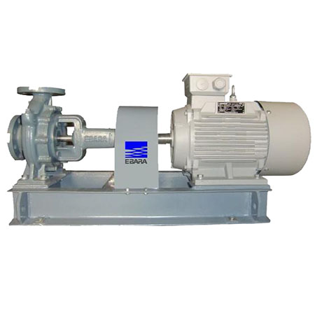 Máy bơm nước trục ngang rời trục Ebara 100X80 FS4HCA5 7.5